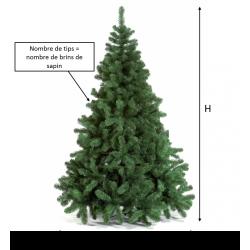 Green artificial tree