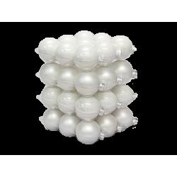 Boules de noël classic-blanc