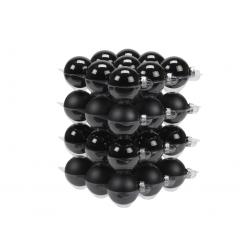 Boules de noël classic-noir