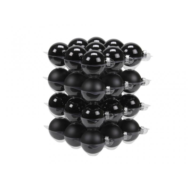 """classic"" Christmas balls - black"