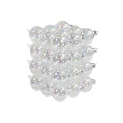 Boules de noël classic-transparent