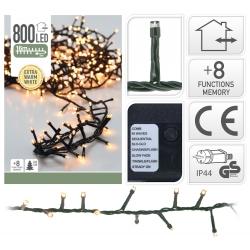 Lichtslinger 800 LED warm wit