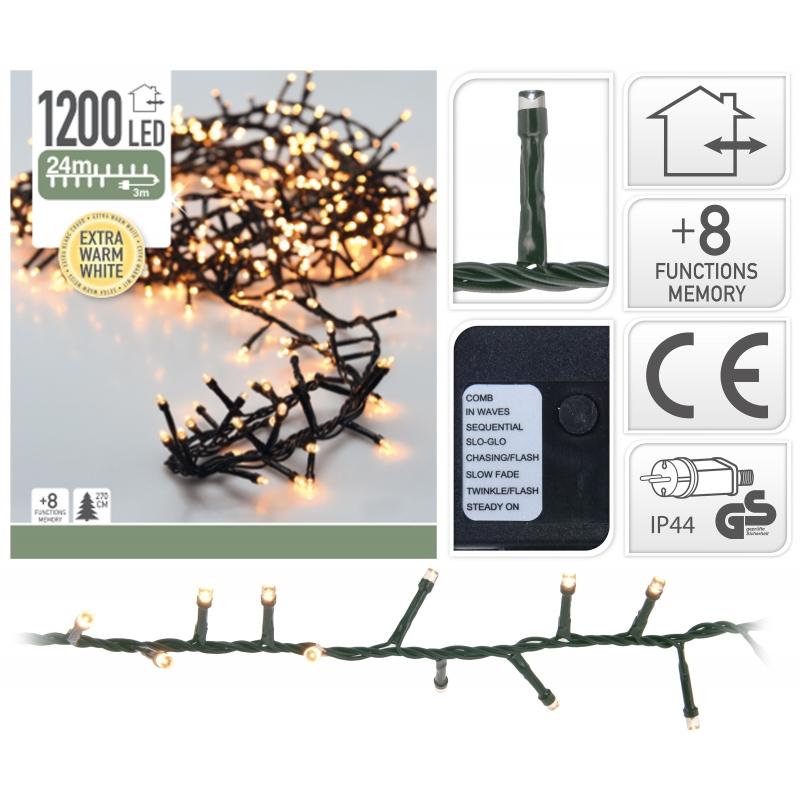 Lichtslinger 1200 LED EXTRA warm wit
