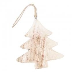Kersthanger houten natuurlijke kerstboom