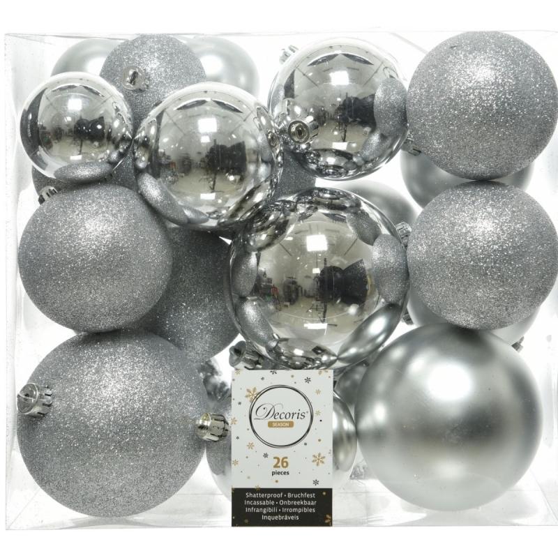 Boule de Noël Classic - Argent - plastique