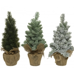 Mini trio artificial trees  - 1
