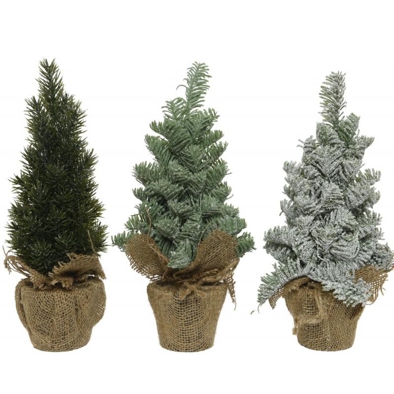Mini trio artificial trees  - 1