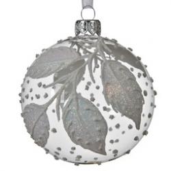 6 Boules de Noel Transparente