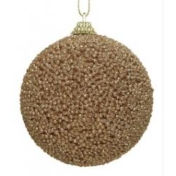 12 Boules de Noel à Perles Pailletées