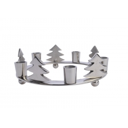 Ronde kaarshouder voor Kerstmis