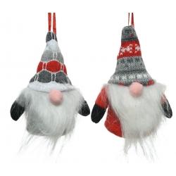 2 Père-noël gnome à bonnet de Noël