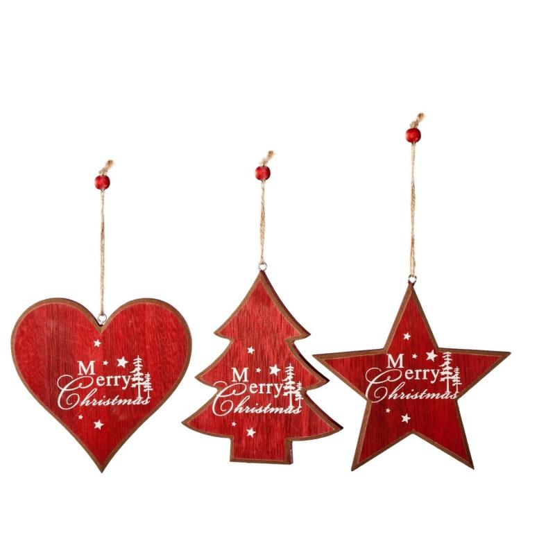 Arbre & Coeur & Etoile de Noël Merry Xmas