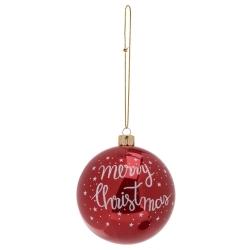 12 Boules de Noel à Paillettes