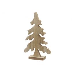 Natural wood Christmas tree