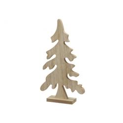 Sapin de Noël en bois naturel
