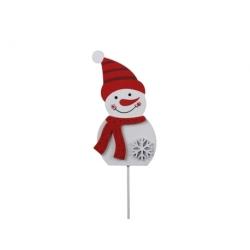 Bonhomme de neige sur stick