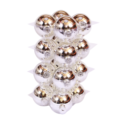 Boules de Noël Classic Argent