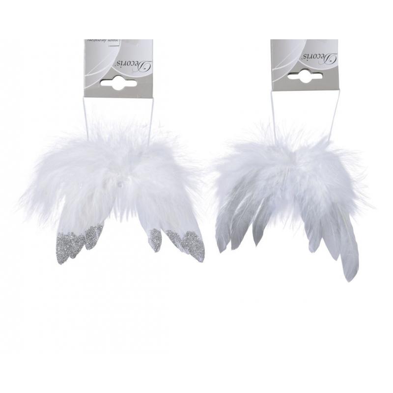 Suspension Aile anges avec extrêmités paillettes