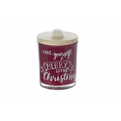 Merry Little Christmas Candle