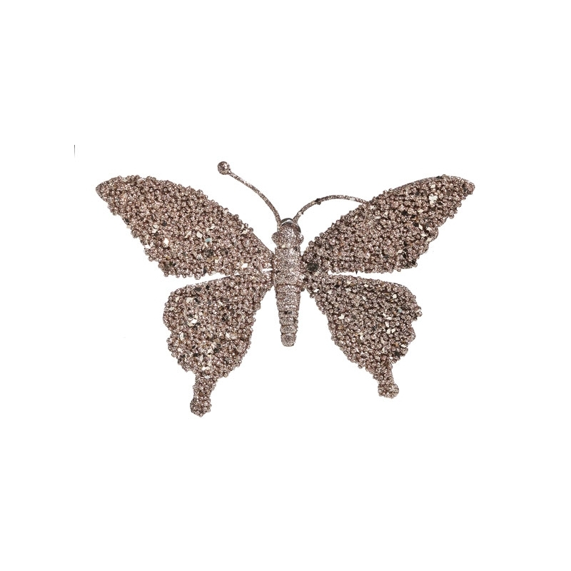 grand papillon brillant à clip OLI