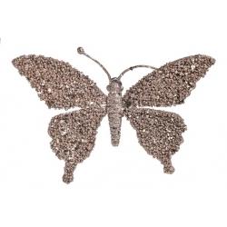 Suspension papillon doré