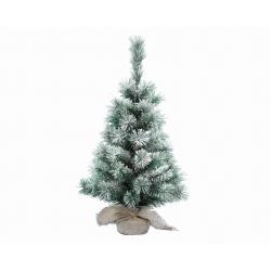 Mini artificial fir tree with snow 45cm