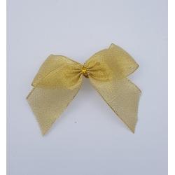 Noeud couleur or