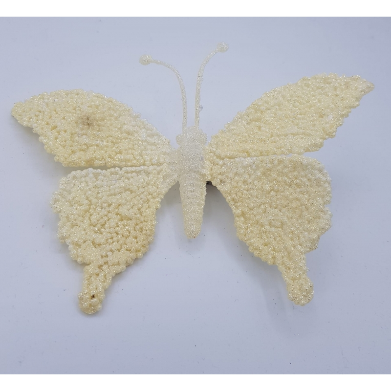 Shinny butterfly with clip