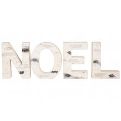 Decoratie NOEL in hout