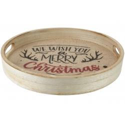 Serveerschaal Merry Christmas
