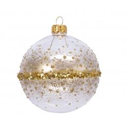 Kerstballen doorzichtig...