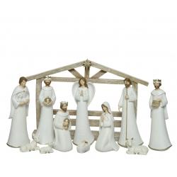 Kerststal 12 figuurtjes