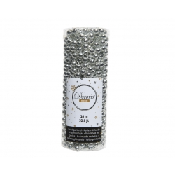 Silver pearl garlands