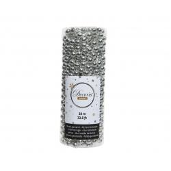 Slinger met zilveren parels