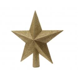 Gouden ster voor kerstboom