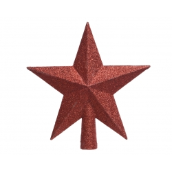 Red star for Christmas tree