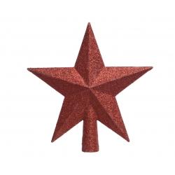 Rode ster voor kerstboom