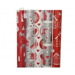 Papier cadeau père Noël