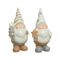 2 porcelain dwarfs