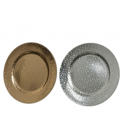Metallic plates