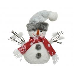 Sneeuwman rode sjaal