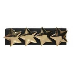 Golden star napkin ring