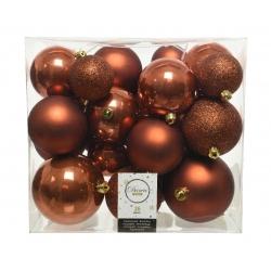 26 brown unbreakable baubles