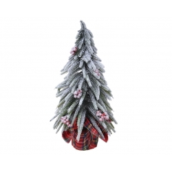 Mini kunstboom rode bessen