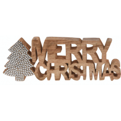 Wooden Merry Christmas
