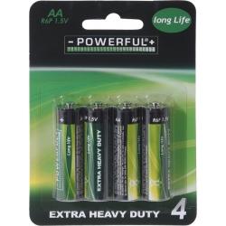4 AA batterijen