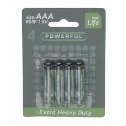 4 AAA batterijen