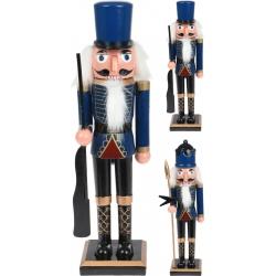 Grand casse-noisette bleu 38cm