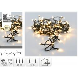 Lichtslinger 80 LED warm wit