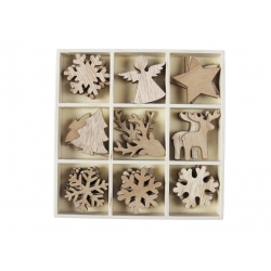 Small wooden decorations